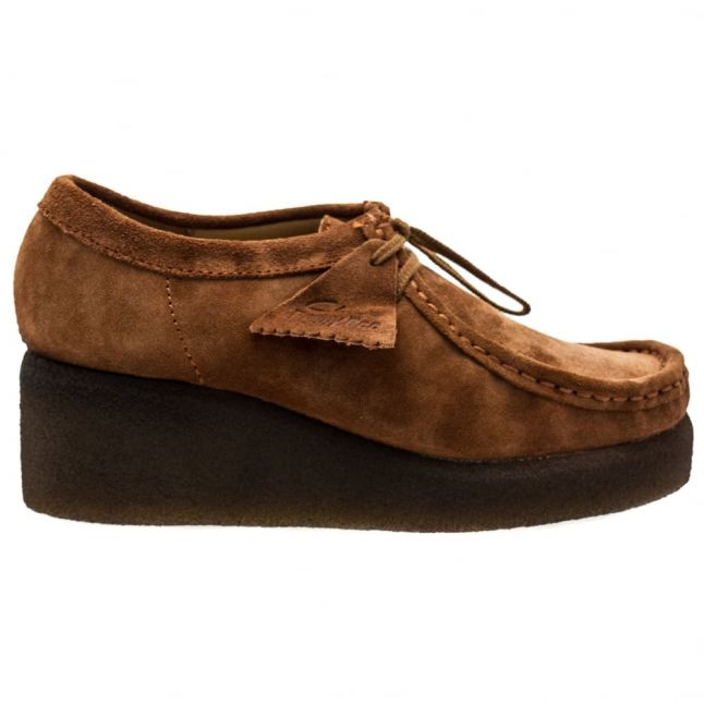 Womens Cola Suede Peggy Bee