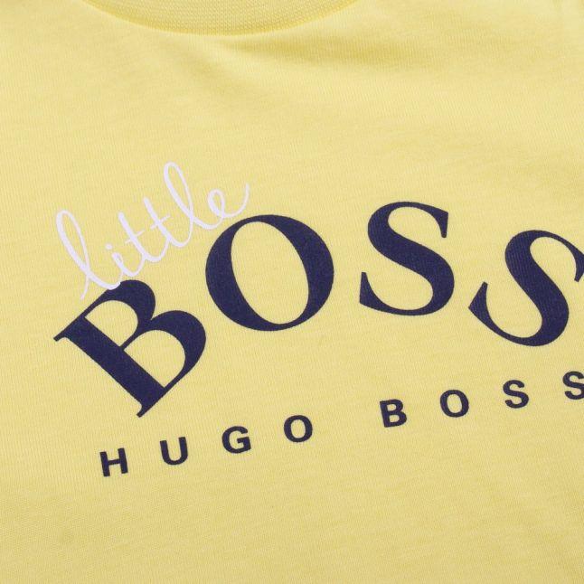 Baby Yellow Little Boss S/s T Shirt