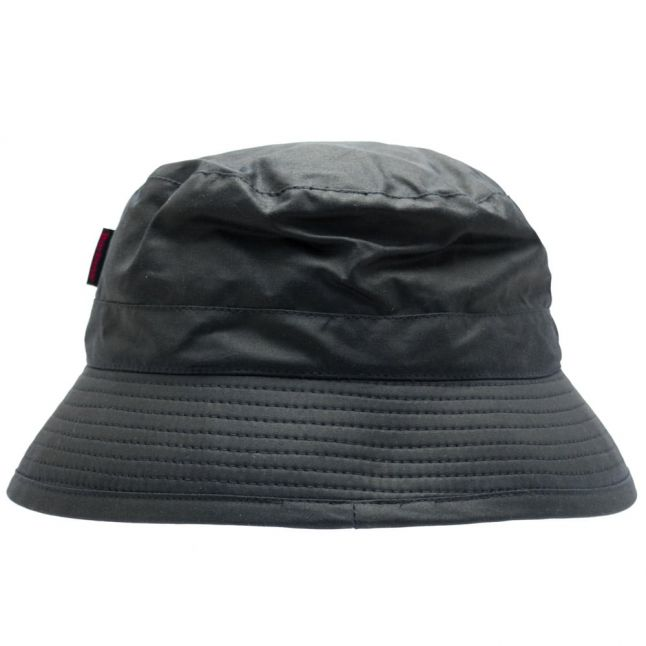 Lifestyle Mens Navy Waxed Sports Bucket Hat