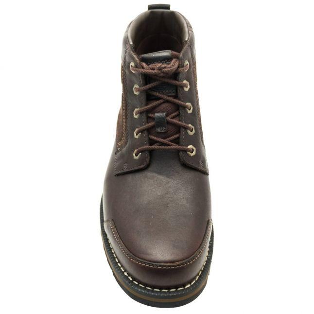 Mens Dark Brown Larchmont Chukka Boots