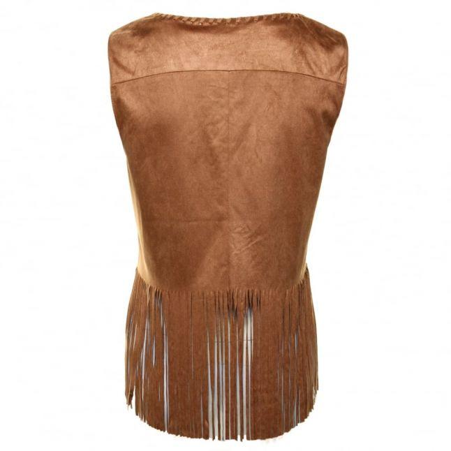 Womens Oak Brown Vimarket Waistcoat