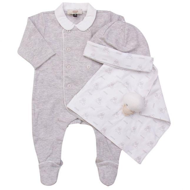 Baby Grey Romper Gift Set