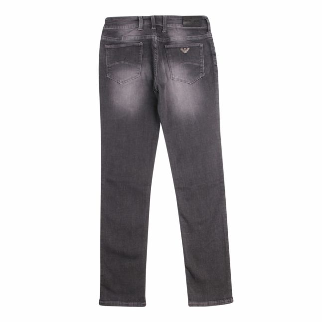Boys Dark Grey J06 Slim Fit Jeans