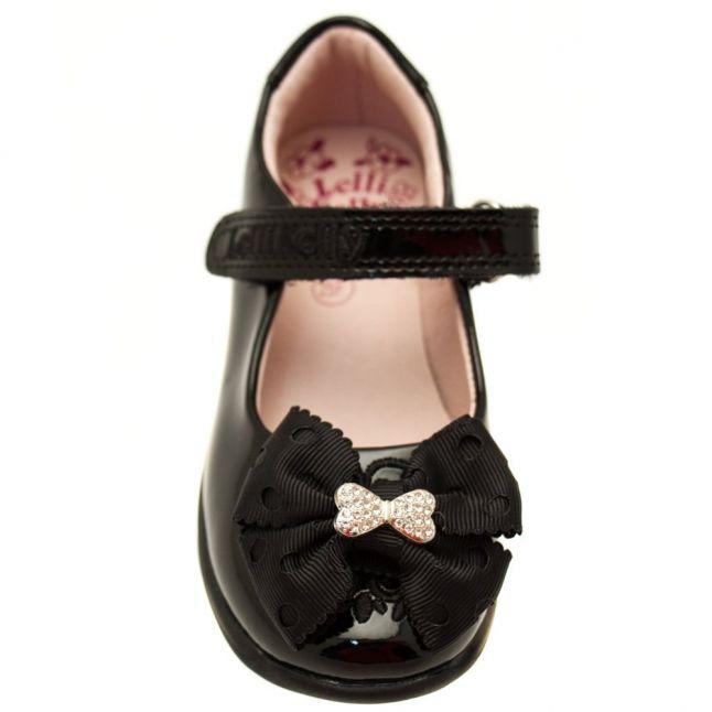 Girls Black Patent Priscilla F-Fit Shoes (25-35)