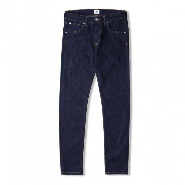 Mens Night Blue ED85 Slim Tapered Fit CS Jeans