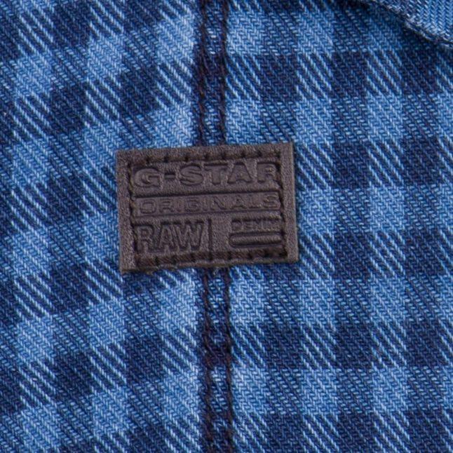 Mens Medium Aged Check Tacoma L/s Shirt