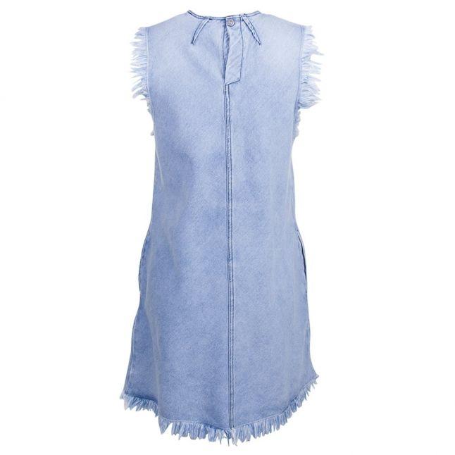 Womens Blue Denim Dress
