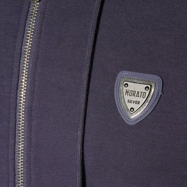 Blue Marine Silver Label Hooded Sweat Top