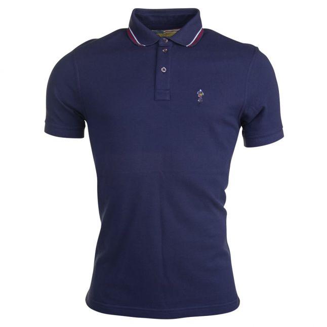 Steve McQueen™ Collection Mens Navy Rickson S/s Polo Shirt