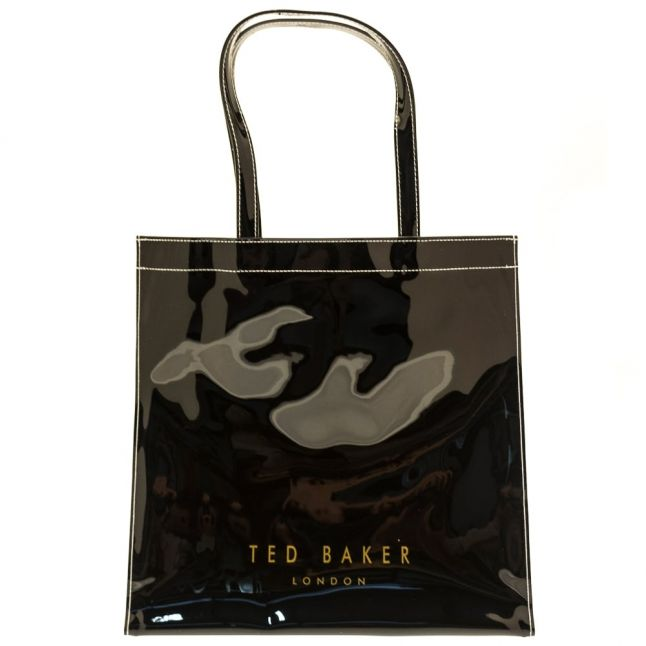 Womens Black Alacon Large Icon Bag