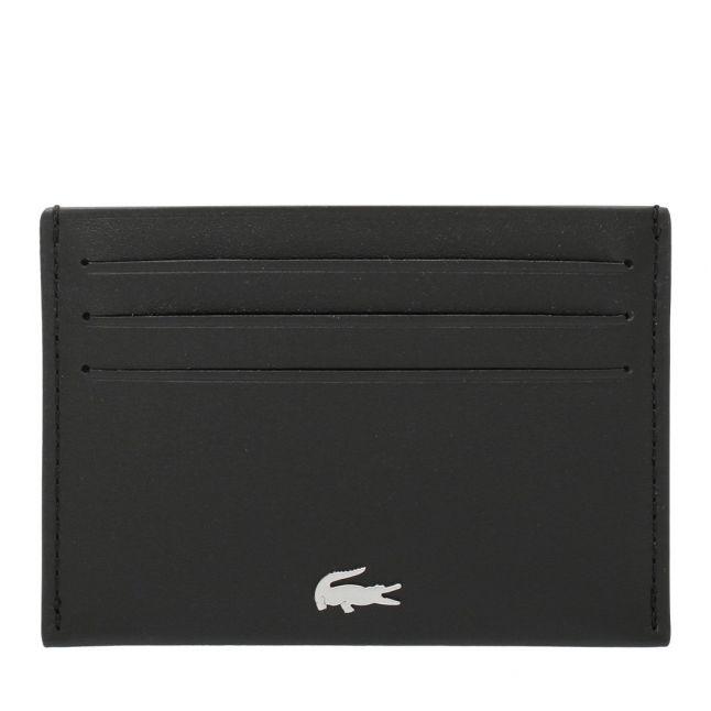 Mens Black Leather Card Holder