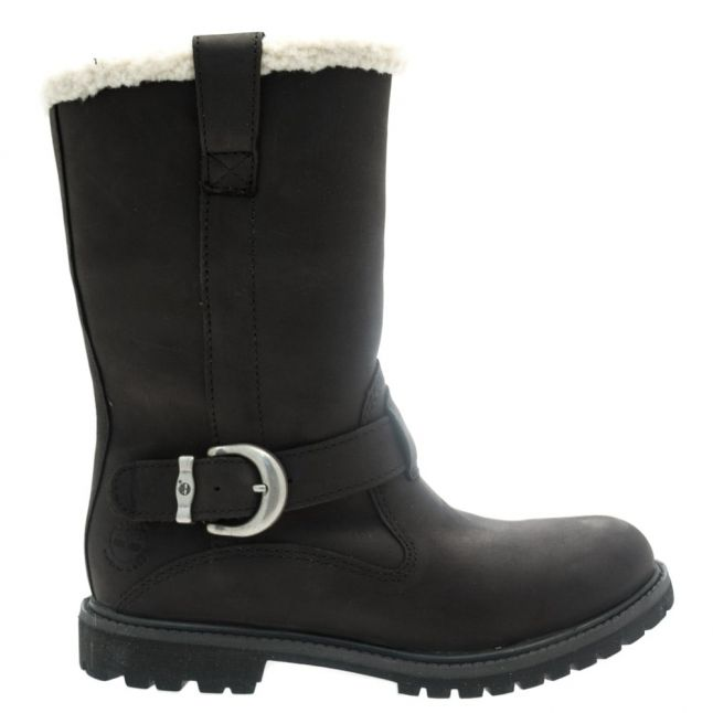 Womens Black Nellie Pull-On Boots