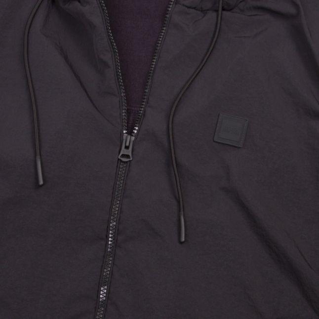 Casual Mens Dark Blue Kennsington Nylon Knitted Jacket