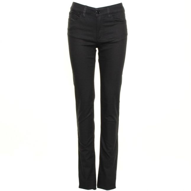 Womens Black J18 Studded Pocket Slim Fit Jeans