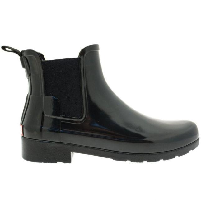 Womens Black Original Refined Chelsea Gloss Wellington Boots