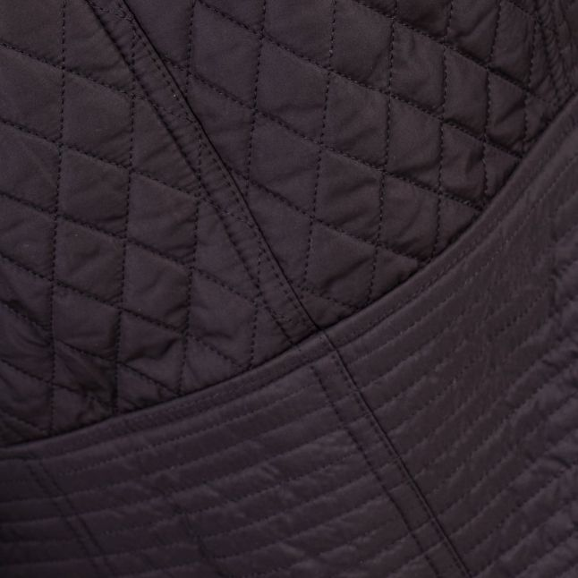 Womens Black Folco Extractor Quilted Jacket