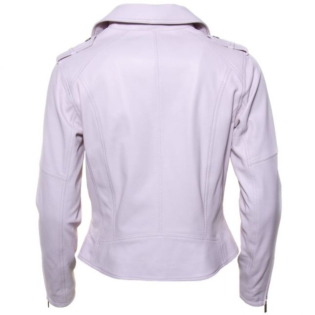 Womens Amethyst Gaverpin Leather Jacket