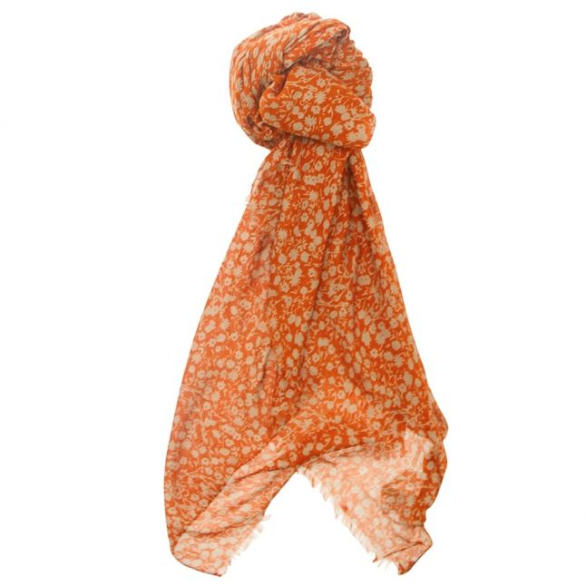 Womens Copper Coin Agnes Printed Scarf