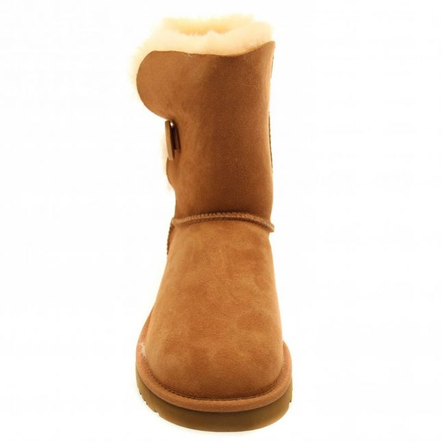 Womens Chestnut Bailey Button Boots
