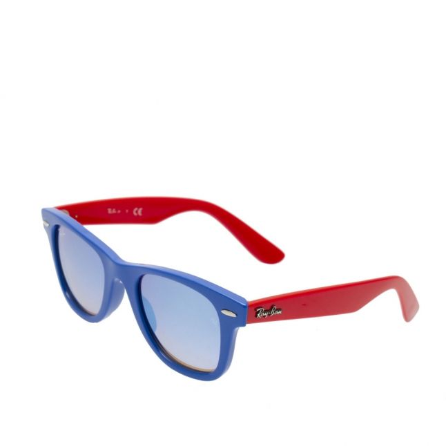 Junior Blue/Red RJ9066S Wayfarer Sunglasses