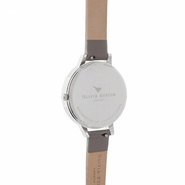 Womens London Grey Rose Gold & Silver Celestial Watch