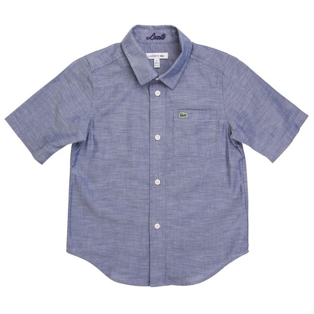 Boys Rne Rinse Chine Branded S/s Shirt