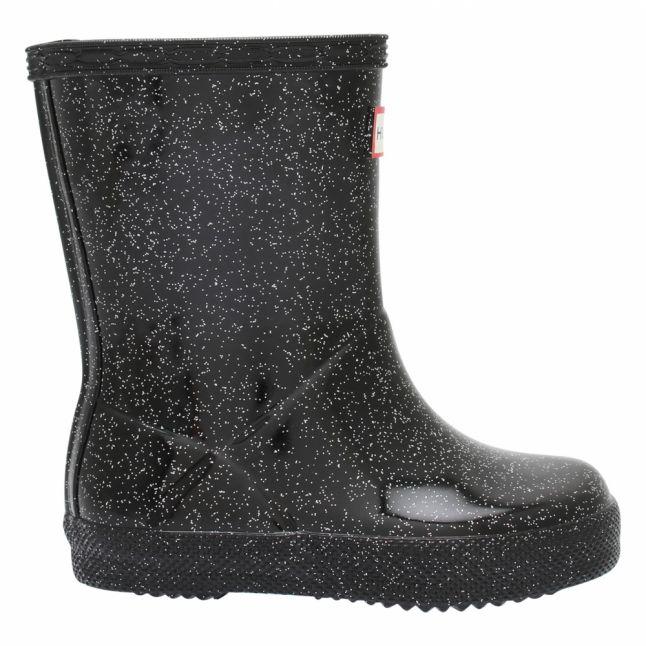 Girls Black Multi First Classic Starcloud Wellington Boots (4-8)