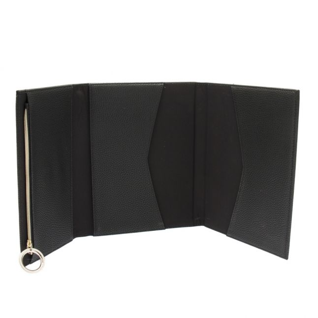 Womens Black Notebook With Pencil Case