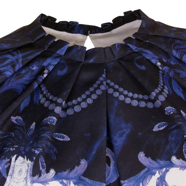 Womens Dark Blue Rallee Persian Blue Top