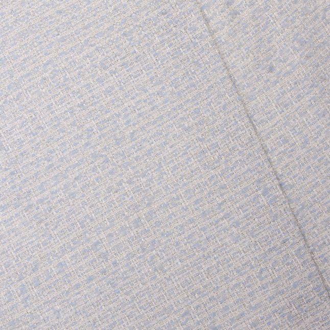Womens Light Blue Blossd Knitted Bodice Dress