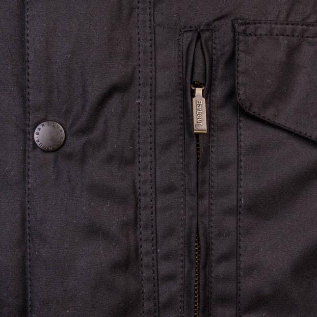 Lifestyle Mens Black Sapper Waxed Jacket