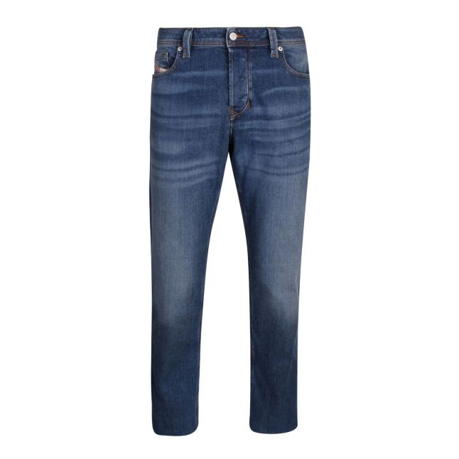 Mens 009DB Wash Larkee Beex Tapered Fit Jeans