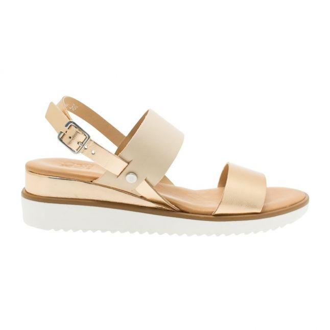 Womens Rose Gold Navas Sandals