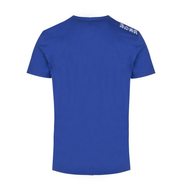 Athleisure Mens Blue Tee Small Logo S/s T Shirt