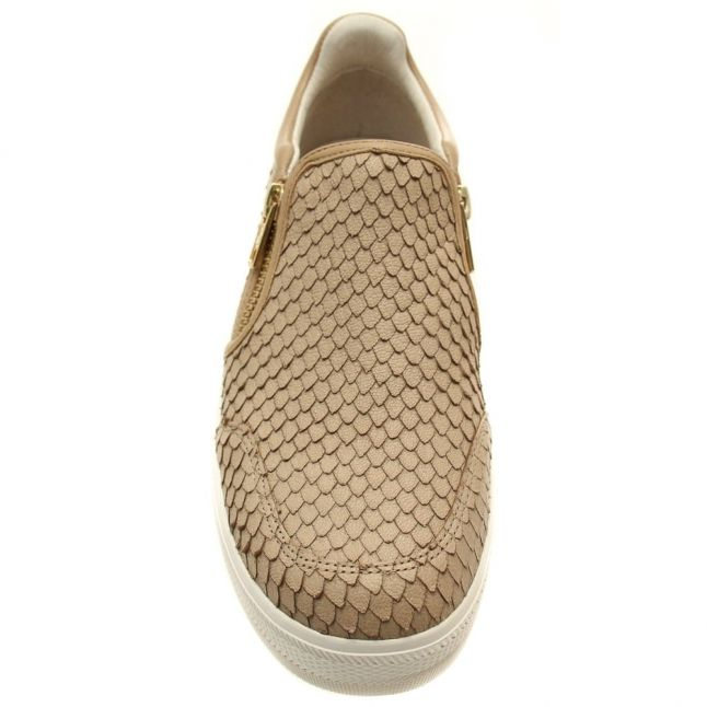 Womens Taupe Jordy Slip On Trainers