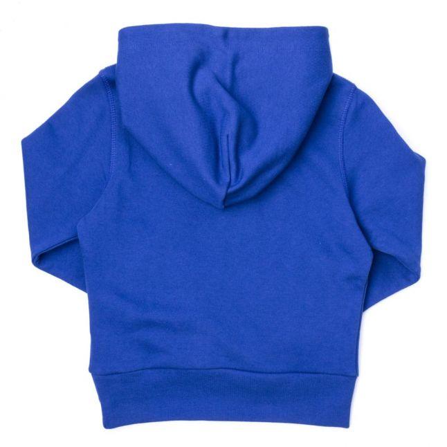 Boys Twilight Blue Hooded Sweat Top