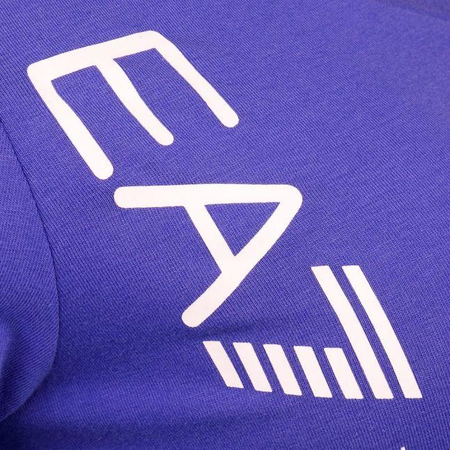 Womens Blue S/s Tee Shirt