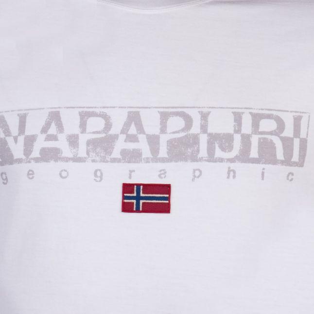Mens White Sapriol S/s T Shirt