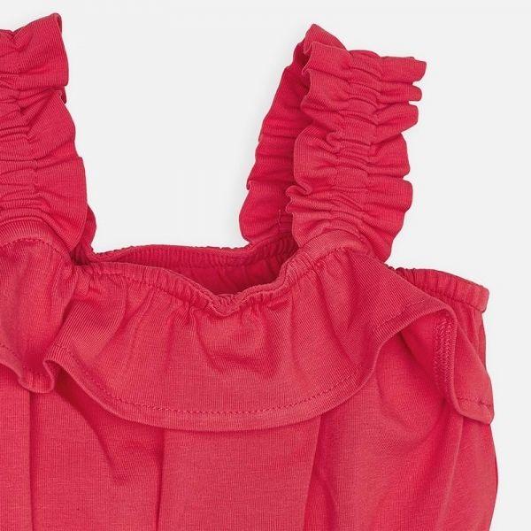 Girls Watermelon Ruffle Vest Top