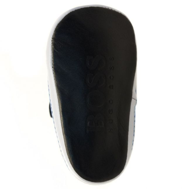 Baby Navy Branded Velcro Trainers (17-19)