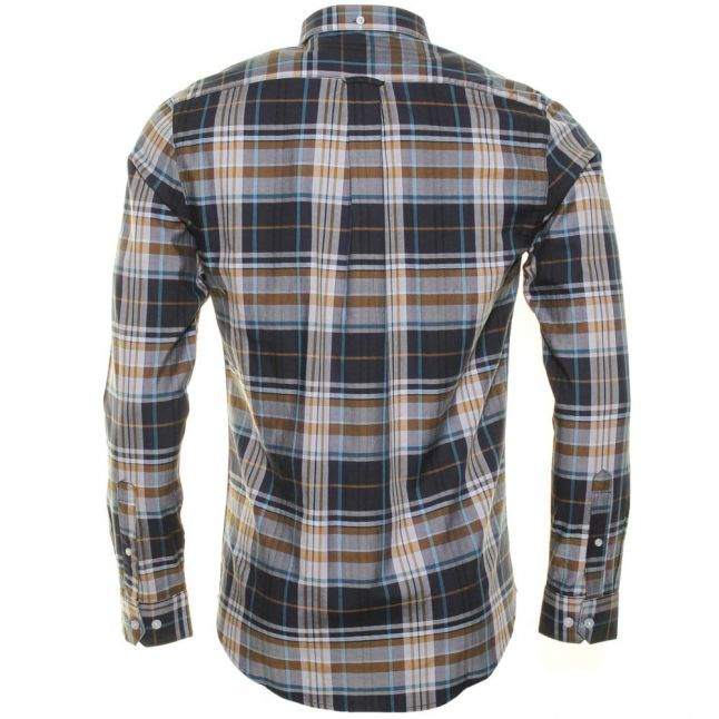 Mens Fig Malton Check Casual Fit L/s Shirt