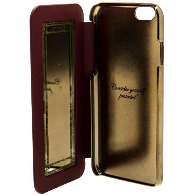 Womens Oxblood Shannon iPhone 6/6S Mirror Flip Case