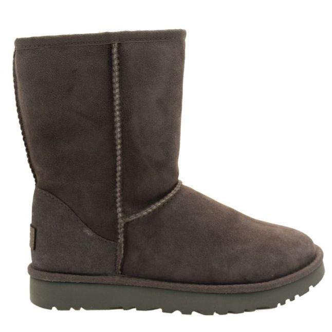 Womens Grey Classic Short II Boots
