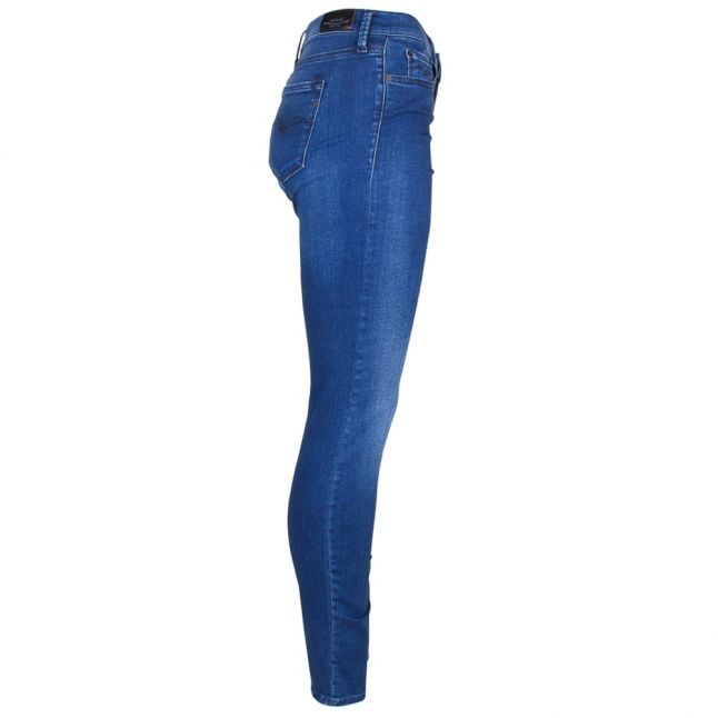 Womens Blue High Rise Joi Skinny Fit Jeans