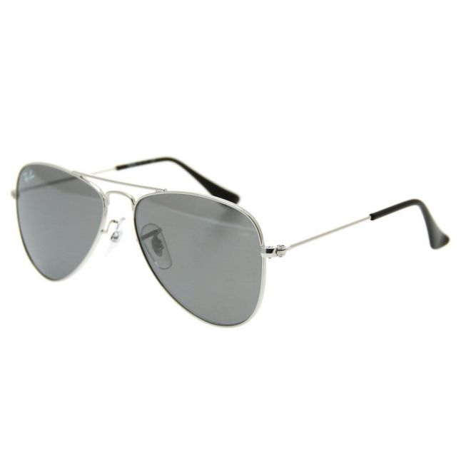 Junior Silver Mirror RJ9506S Aviator Sunglasses
