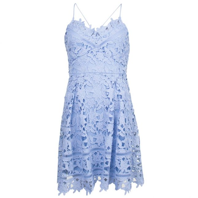 Womens Cashmere Blue Viclarna Lace Strap Dress