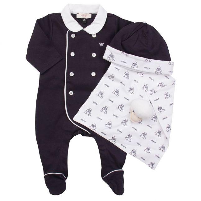 Baby Blue Romper Gift Set