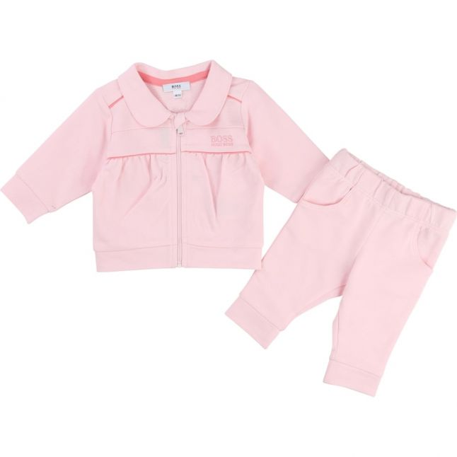 Baby Pink Branded Tracksuit