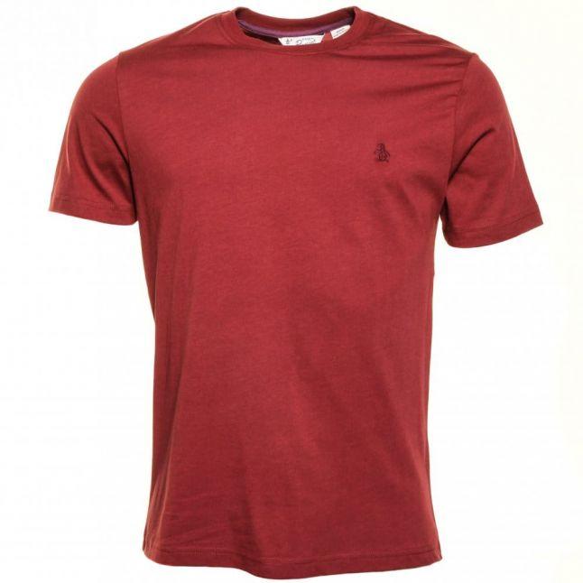 Mens Pomegranate Pin Point S/s Tee Shirt
