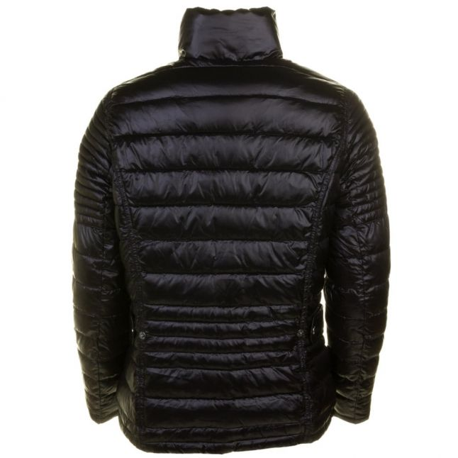 Womens Black Camber Baffle Quilted Jacket